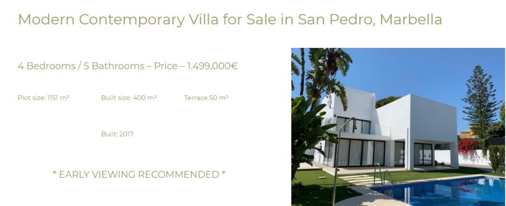 featured marbella property